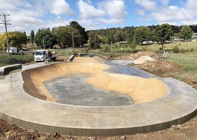 Skate Park Construction for local government