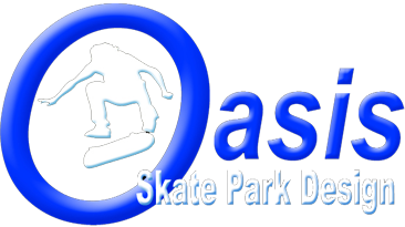Oasis skate park design and construction